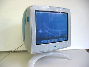 "Apple Studio Display 17"" CRT Skärm Mitsubishi Diamondtron Trinitron Monitor"