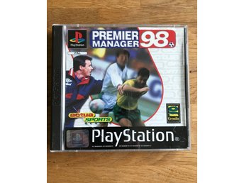 Premier Manager 98 PlayStation PSone PS1