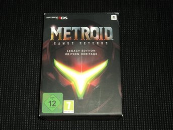 3DS Metroid Samus Returns Legacy Edition