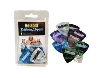 Rolandz: Plektrum 12-pack 0,71mm