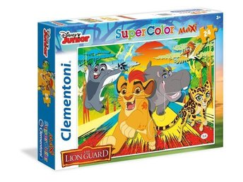 24 pcs. MAXI  Puzzles Kids SuperColors LION GUARD