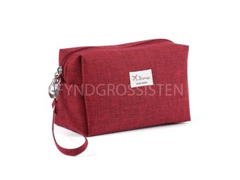 Cosmetic bag Organizer Röd Fri Frakt Ny