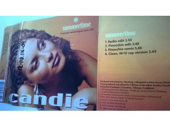 Candie - Summertime, single CD