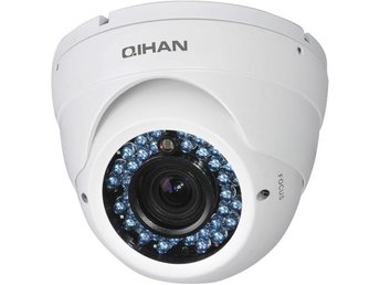 "Qihan DOME Sony 1/3"" Exmor CMOS, 2,8-12mm , BNC, IR, vandalsk, vit - Höganäs - Qihan DOME Sony 1/3"" Exmor CMOS, 2,8-12mm , BNC, IR, vandalsk, vit - Höganäs"