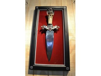 Dagger! Guardian of the Fortress Greg Hildebrandt Franklin Mint