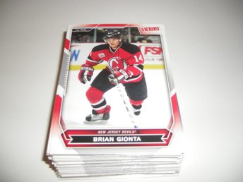 UD Victory 07/08 #5 Brian Gionta - New Jersey Devils