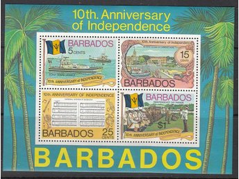Barbados 1976 Mnr:  413-16/block 9 **