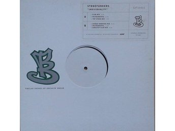 "The Stonefunkers title* Individuality* House, Downtempo 12"" W/L SWE"