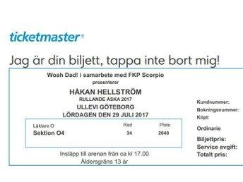Håkan Hellström 29/7, Ullevi - Göteborg - Håkan Hellström 29/7, Ullevi - Göteborg