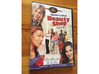 Beauty Shop - Kevin Bacon (original DVD) - Gratis frakt