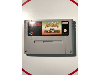 Super Mario All Stars / World Super Nintendo Snes Fint skick EUR