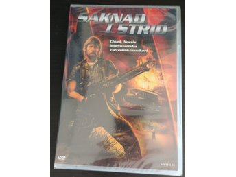 Saknad i strid - Missing in Action (Chuck Norris) 1984 - DVD NY