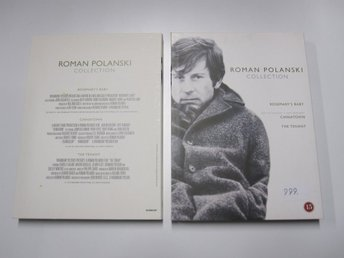 Roman Polanski collection - 3 Filmer