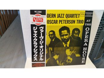 Modern Jazz Quartet & Oscar Peterson Trio - At the Opera House (M-)