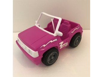 Barbie bil jeep beach buggy Mattel 90-tal