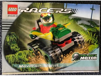 LEGO Racers 4583 (Maverick Storm) - Manual