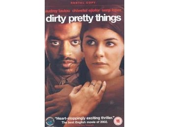 Dirty Pretty Things - Chiwetel Ejiofor, Audrey Tautou - Hyrfilm DVD