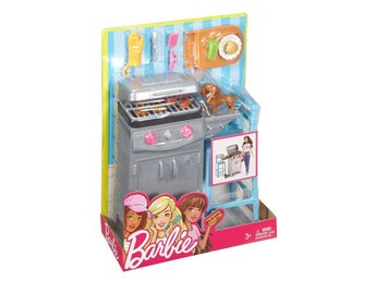 Barbie barbeque grillset