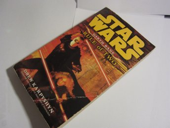 Stare Wars Rule of Two Darh Bane Bok / Roman av Drew Karpyshyn 2008 om sith Lord