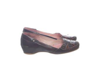 dam sko strl.39 (ormskins imitation) (360302153) ᐈ Köp på