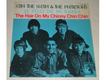 Sam The Sham OMSLAG EP The hair on my chinny... 1966