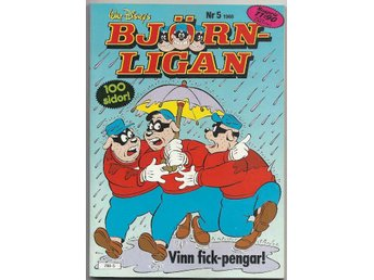 Björnligan 1988 Nr 5 VF/NM - Vikingstad - Björnligan 1988 Nr 5 VF/NM - Vikingstad