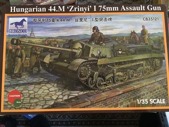 "Bronco - Hungsrian 44.M ""Zrinyi"" I 75mm Assault Gun..1:35"