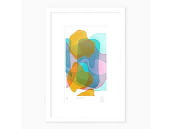 'Balance' Ulrika Bygge serigrafi / silkscreentryck - Stockholm - 'Balance' Ulrika Bygge serigrafi / silkscreentryck - Stockholm