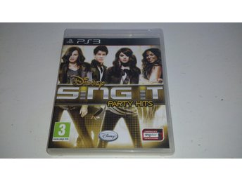 - Disney Sing It Party Hits PS3 -