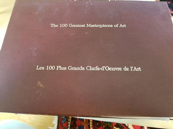 THE 100 GREATEST MASTERPIECES OF ART