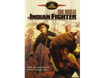The Indian Fighter. Kirk Douglas - Svensk text - Ny och inplastad!
