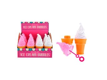 Såpbubblor 2-pack Ice cream bubbles Temerity Jones