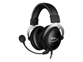 Kingston HyperX CloudX Pro Gaming headset, PC och Xbox, 1,3m, svart/si