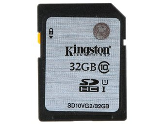 Minneskort SDHC Klass 10 45MB/s - 32GB