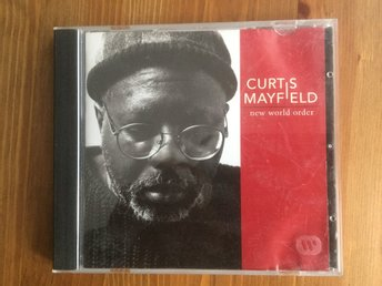 Curtis Mayfield -  New world order - CD Mkt Bra Skick