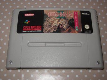 Shanghai II Dragon's Eye till Super Nintendo SNES