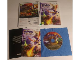 Spyro Dawn of the Dragon Till Nintendo Wii U! 1kr