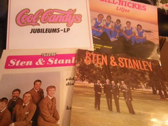 4 lpn dans cool candys-lill nickes-sten & stanley