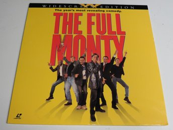 THE FULL MONTY (Laserdisc) Robert Carlyle