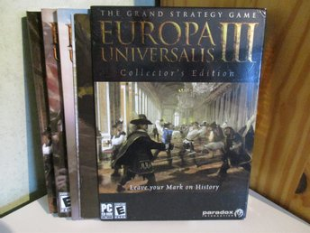 Europa Universalis III - Collector's Edition - PC - CD ROM