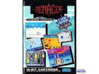 MENACER 6 GAME CARTRIDGE MEGADRIVE