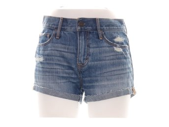 Abercrombie & Fitch, Shorts, Strl: 26, Blå
