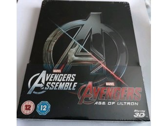 Blu-Ray Steelbook: Avengers Assemble & Avengers: Age of Ultron 3D