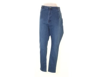 &Denim by H&M, Byxor, Strl: 54, JEGGINGS HIGH WAIST, Blå