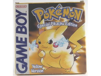 Pokemon Yellow Version - Game Boy