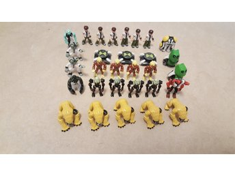 Ben 10 samling, Cartoon Network, bip, 30 figurer