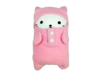 NY! Cute Cat Folding Barn Blanket! Pink