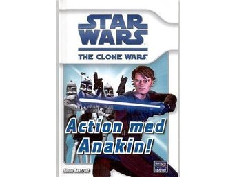 STAR WARS The clone wars Action med Anakin! Ny bok