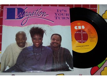 "DELEGATION - IT´S YOUR TURN 7"" 1983"