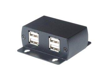 USB-förlängning över Ethernetkabel, 4 enheter, 60m, svart - Höganäs - USB-förlängning över Ethernetkabel, 4 enheter, 60m, svart - Höganäs